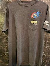 Vintage Batman the Ride T-Shirt Size L Rare Six Flags 1994 DC Comics