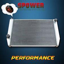 56mm 3 Row For Ford Falcon XC XD XE XF Aluminum Radiator V8 V6 MT Manual