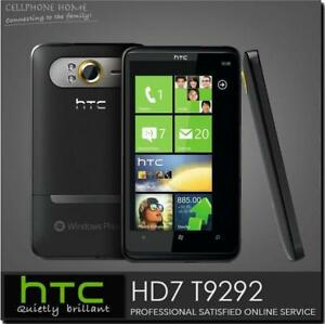 "T9292 Original HTC HD7 3G Windows 7 T-Mobile GPS WIFI 5MP 4.3""TouchScreen Phone"