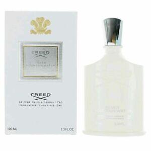 CREED SILVER MOUNTAIN WATER 3.3oz /100 ml Eau De Parfum Spray  New Box Damaged
