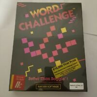hayden software word challenge apple II IIplus IIe IIc 48k NOS