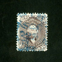 US Stamps # 70 XF Blazing color w/ striking blue cancel Scott Value $325.00