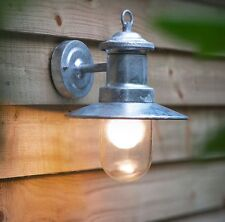 Stylish Garden Trading Outdoor St Ives Ship Outdoor Indoor Light Galvanised