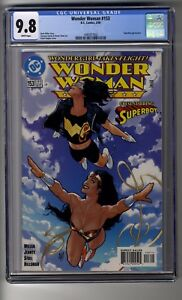 Wonder Woman (1987) # 153 - CBCS 9.8 White Pages - Adam Hughes - Superboy App