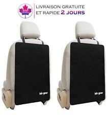 [lot de 2] Housse protecteur de siège de voiture pour le dos de vos sièges avant