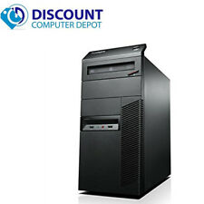 Fast Lenovo Quad Core i5 Windows 10 Pro Desktop Computer Tower 3.2GHz 8GB 500GB