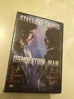 Dvd  DEMOLITION MAN  CON STALLONE Y SNIPES