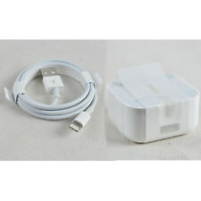 Genuine Apple A1552 5W USB Mains Travel Charger MFi Lightning Data Sync Cable