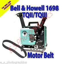 Bell & Howell 1698 TQII TQIII 16mm Motor principal cine Proyector Belt (cinturón)