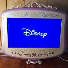 "Disney Princess 19"" LCD TV DVD Combo Pink Retro RARE TESTED & WORKING P1900DLTDC"