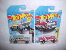 HW '64 NOVA WAGON GASSER & '55 CHEVY BEL AIR GASSER VHTF HOT WHEELS DIECAST CARS