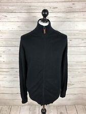 BEN SHERMAN Zipped Cardigan - Size Medium - Black - Great Condition - Men's