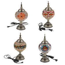 Mosaic Lamp Handmade Turkish Mosaic Glass Table Lamp Decorative Desk Lights