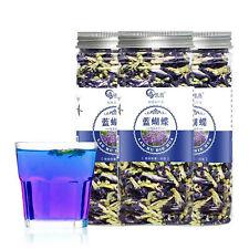 90g 100% Thai Dried Butterfly Pea Tea Flower Pure Organic Natural Blue Drink