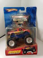 2005 Hot Wheels Monster Jam Truck Anger Management #51 Metal 1/64 Scale VHTF