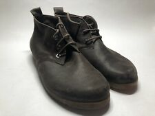 Arche France Brown Leather Chukka Desert Ankle Boots Bootie - EU 40 US Women's 9