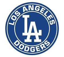 Los Angeles Dodgers LA Circle Logo Vinyl Decal / Sticker 10 Sizes!!!