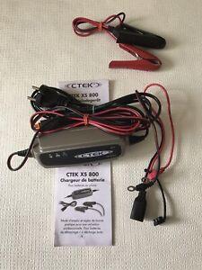 Chargeur Batterie Moto Quad scooter CTEK XC 800