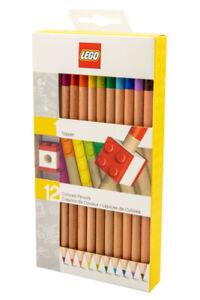 Lego 52064 Buntstifte mit Topper 12 verschiedene Farben