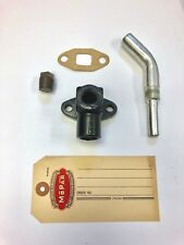 1937-1954 Chrysler, DeSoto Heater Bypass Elbow, Tube and Gasket FRESH STOCK!