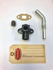 1946 1947 1948 1949 1950 1951 '52 '53 Plymouth Heater Bypass Elbow, Tube, Gasket