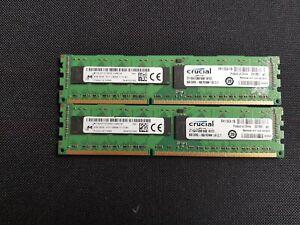 16 GB Crucial CT102472BB160B 2x8 GB, PC3-12800 (DDR3-1600), DDR3 SDRAM