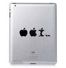 Apple EVOLUTION LOGO Apple iPad Mac Macbook Sticker Vinyl aufkleber