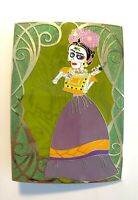 It Is I Frida Kahlo Framed Disney Coco Fantasy Pin LE