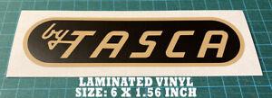 TASCA FORD - VINTAGE DEALER HI-PERFORMANCE FORD - BOSS - VINYL DECAL - STICKER