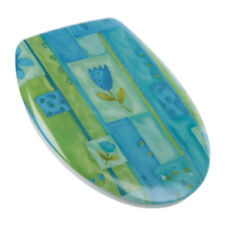 Asientos y tapas para WC color principal azul