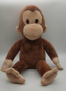 "CURIOUS GEORGE Soft Plush Stuffed Animal Monkey Applause Classic Vintage 15"""