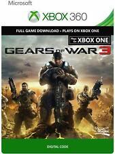 Gears Of War 3 Xbox 360/Xbox One Digital Code