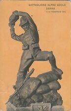 A1210) WW ITALO TURCA, BATTAGLIONE ALPINI EDOLO. DERNA 11-12 FEBBRAIO 1912. VG.