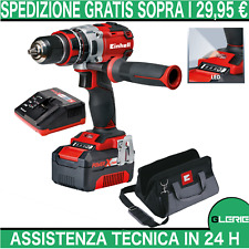 Trapano avvitatore brushless EINHELL 18V TE-CD 18 LI-I BL kit 4.0 4513864