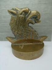 More details for rare brass paperweight salvaged from h.m.s frobischer, ww2 operation neptune