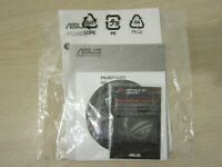ASUS PG348 CD USER GUIDE/INSTRUCTIONS, ROG STICKER, OEM FACTORY, FREE S&H