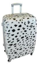 "PC6820 28"" SNOW LEOPARD Fr PC ABS HARDSIDE SPINNER SUITCASE BAG LUGGAGE"