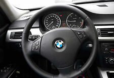 BMW E90 E91 KIT RIVESTIMENTO COPRIVOLANTE VERA PELLE DA SOSTIUIRE A ORIGINALE