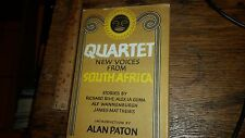 Quartet:New Voices from South Africa by Richard Rive 1963 Hardback w Dust Jacket