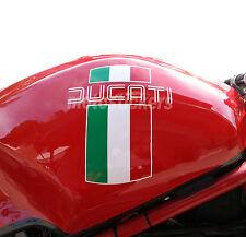 Adesivi Moto - Adesivi tricolore per serbatoio Ducati monster 900 carburatori