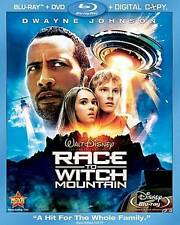 Race to Witch Mountain 3-Disc (Blu-ray + DVD + Digital) w/ Slipcover New Sealed