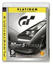 Gran Turismo 5 Prologue REGION FREE Playstation 3 SEALED NEW