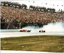 DANNY SULLIVAN MARIO ANDRETTI 1985 INDY 500 SPIN TO WIN  8 X 10 PHOTO #4
