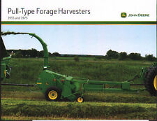 John Deere 3955 and 3975 Pull-Type Tractor Forage Harvester Brochure Leaflet