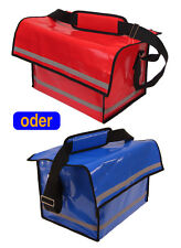 Zeitungstasche, Zustellertasche Prospekttasche Farbe blau oder rot  *NEU*