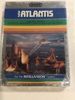 Atlantis 1982 Intellivision Video Game Mattel Electronics Imagic New Sealed