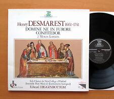 Stu 71511 Henry Desmarest domine ne en furor Confitebor Erato Gatefold casi nuevo/Excelente