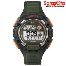 Timex T49972 Expedition Digital Resin Strap World Time WR 100m Sport Men's Watch