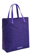 Kenzo Womens Ladies Shopper Tote Beach Bag purple Brand New