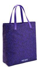Kenzo Womens Ladies Shopper Tote Beach Bag purple Brand New